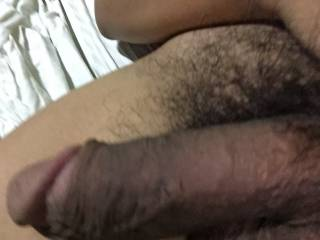 Looks like a nice thick suckable cock, would love too feel it grow in my mouth