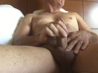 Stroke that big dick of yours my good man! Very nice job. Thanks for the view.