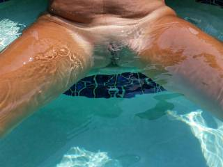 I love to play in the pool who want's to go skinny dipping with me ...