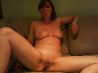 MMMMMMMMMMMMMMMM I WOULD LOVE TO LICK and SUCK ON HER TIGHT PUSSY and HARD CLIT TIL SHE CUMMED IN MY MOUTH ANYTIME!!!YOUR A LUCKY MAN;)