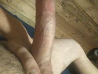 Horny and ready for a wild ride! If you want to ride my big fat cock send me a message