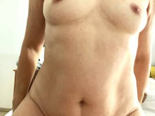 Rubbing my wet dripping pussy  back and forward over his still hard cock!!!