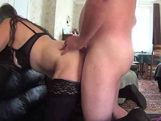 Proper Policewoman pt 3 of 3 - The last part is fucking, sucking and anal till I cum in her ass....
