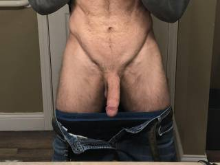 Want to bend over the counter and fuck in front of the mirror?