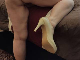 Give me your cock so Hubby can watch our enjoyment. Let him stroke his cock as you fuck me from behind. Fill me with your seed.