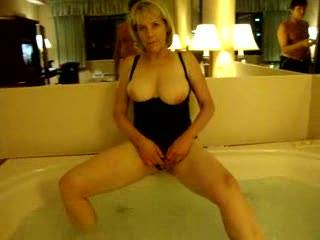 Jaccusi\'s make me horny!  This movie has me showing almost everything. Love to show ya my tits; or my bottom; and getting braver showing you my hard clit!