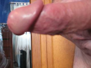 you sure do have me hard from looking at your great cock. i'll suck you