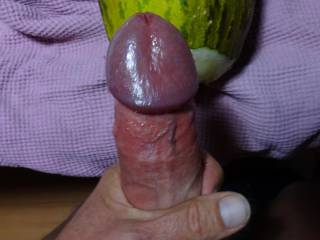 Cumming into a juicy melon. ... It\'s an incredible feeling: like deepthroating and assfucking and vacuum-pumping altogether. Would wishing a girls would suck me off instead - or like the sweet juices from my dick - before I fuck her deeply! Any takers?
