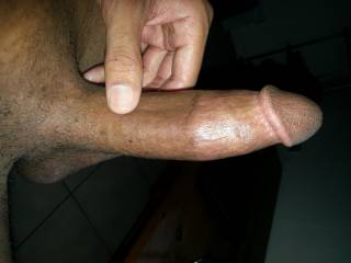 Mmmmm, lovely smooth tight cut cock Mrs Oz