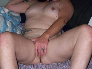 showing off for my mistress and a friend, who wants to join me
