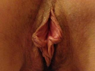very inviting,,,, like to stretch it and gape it wide open , with my fat cock,,,feel your hot juices flooding over my hard cock as it nudges againsy your cervix mmm  perfect pussy )) x