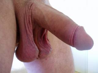 Would suck those nice balls and cock even if i'm not gay! Very nice outfit! a real beauty!