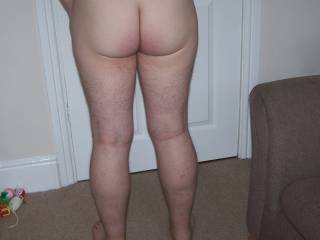 my arse and legs