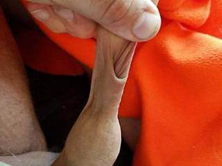 pulling on my foreskin - love to have it twisted and pulled