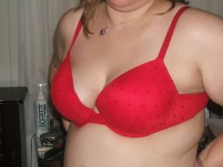 How do you like my new bra?