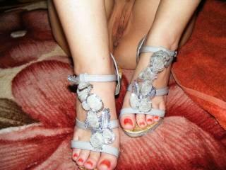 Debi and her feet...
