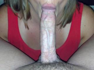 I'm sure where you can put it, put it in my pussy and then my mouth...hell with the big dick category....its good and plenty for me.....and I'll suck on it like it was candy