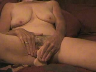 damn honey uare sooooo hot, love that hairy pussy and nice big tits!