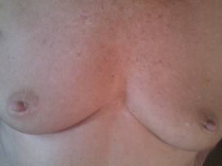 your wife has very lovely and well formed titties.could you post much more of her and her body please?
