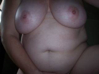 Fuck yes I want to rub the soft tip of my hard cock on your nipples