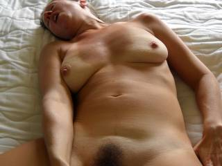 i would like to roll you over with your toy still in your pussy and slide my cock into your waiting asshole great pic