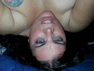 Had my cock buried so deep into her tight pussy and she would grind on it soooo good