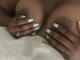 She loves to have her nipples played with