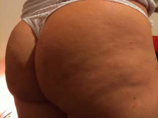 Big butt in brand new thongs