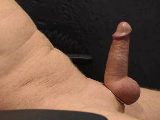 Hadn\'t cum in a few days. Just setting up to video and I was over the edge. So I released my cock and just let it jerk wildly and squirt my sperm everywhere. Anyone care to clean me up? This is revised from my first video & includes slo-mo of my cumshot.