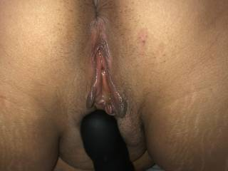 He has just filled her tight pussy with his warm semen. She wants more