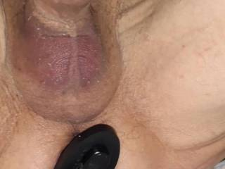 The current causes my ass and cock to flex. I do this while fucking my wife but it is hard to get a picture of that so here is just me getting fucked by the current  I need for someone to come over and hold the camera
