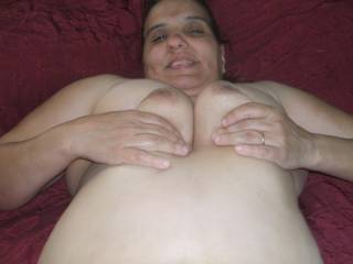 she is so gorgeous, sexy and hot! loved to grab her great tits!!
