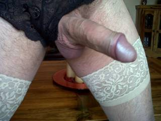 Bignthick juicy cock! dressed & ready for sum sticky wet fun! anyone want to taste? xXx