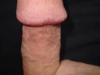 A closeup of my circumcised pierced dick. Do you like its big head?