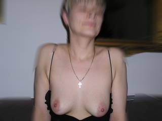 Nope don't like your tits   I love them,,  so gorgeously boob like..    Sexy lady,,  looking very pretty