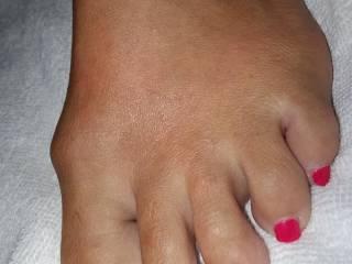 You like my toes guys