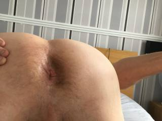 my tight arse wide open even I want to fuck me :)