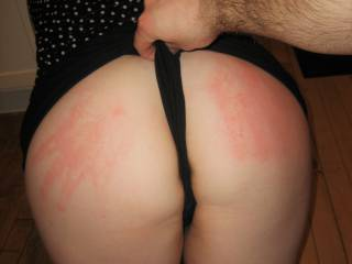 met this girl, she was naughty and needed a spanking.