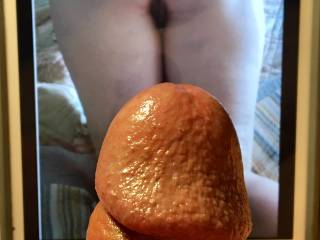 My sexy friend Horny2much sent a special picture for a tribute This ass had me hard in seconds   Just the thought of what that pussy would look and taste like made me spill some bobaloo milk in no time  look for the video