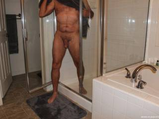 You Ladies got me so hot I had to take a shower to calm down!