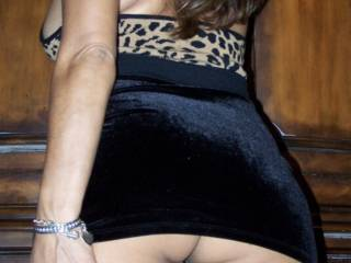 My wife's favorite party and date dress. Would you like to party with my wife?
