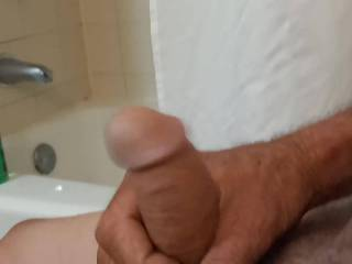 This is a soft cum. Fantastic organic as you can tell by my legs and feet. Cock very tender after cumming.
