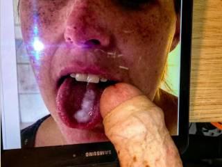 A lovely tribute to the cum loving slut Lotta.