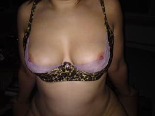 flash of nipples over a sex bra!