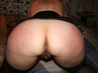 Nice butt ready to be spanked