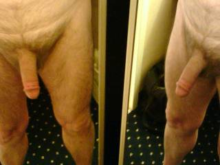 Two views of that hot cock. Love it.