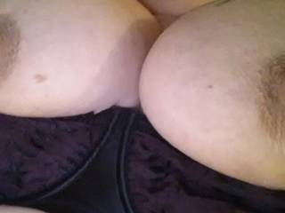 Wow those are sweet. Can I have a lick and a squeeze first? Then I'll give them a good sucking. Sweet