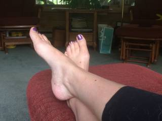 Mmm lots of then but for starters how about sucking on your sexy toes then a stiff cock between them