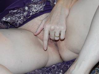 Finger it then spread those lips and show me where you want that cock!