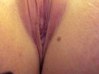 I would spread your pussy lips wide open and lick the hell out of that sweeeeet pussy!